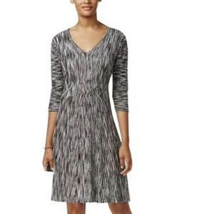 NWT Connected Apparel Ribbed Knit Sweaterdress